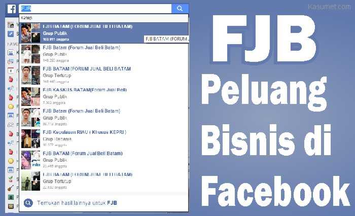 FJB Peluang Bisnis di Facebook