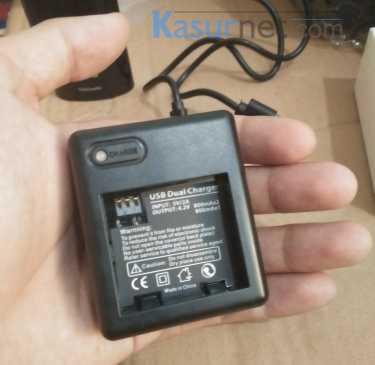 Review Dual Battery Charger untuk Xiaomi Yi