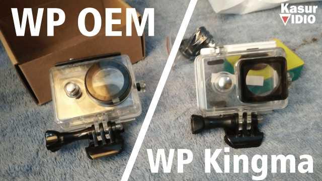 Video Review Waterproof Case OEM dan Kingma V2 Xiaomi Yi