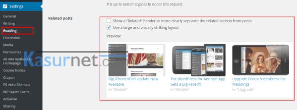 Widget Artikel Terkait Untuk WordPress 3