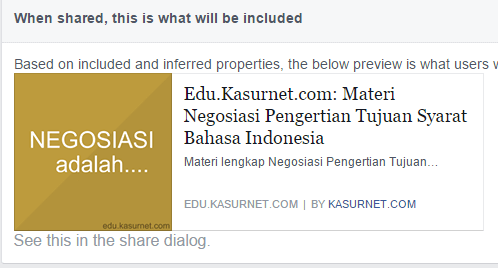 Cara Memasang Authorship Facebook di Website