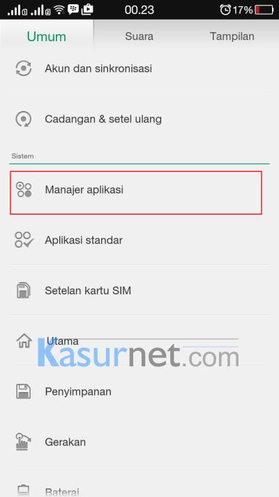 Cara Memindahkan Aplikasi ke sd card Oppo