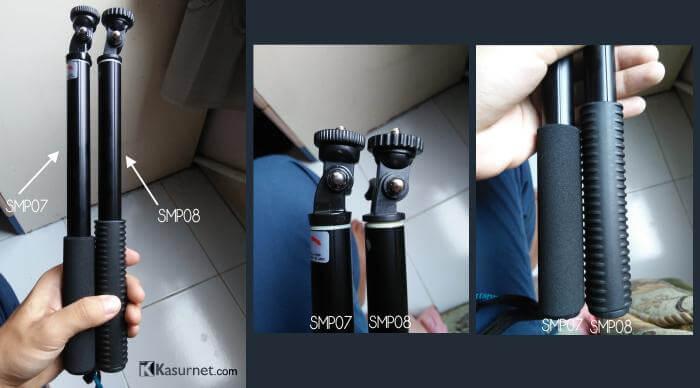 Review Monopod Attanta SMP07 VS SMP08