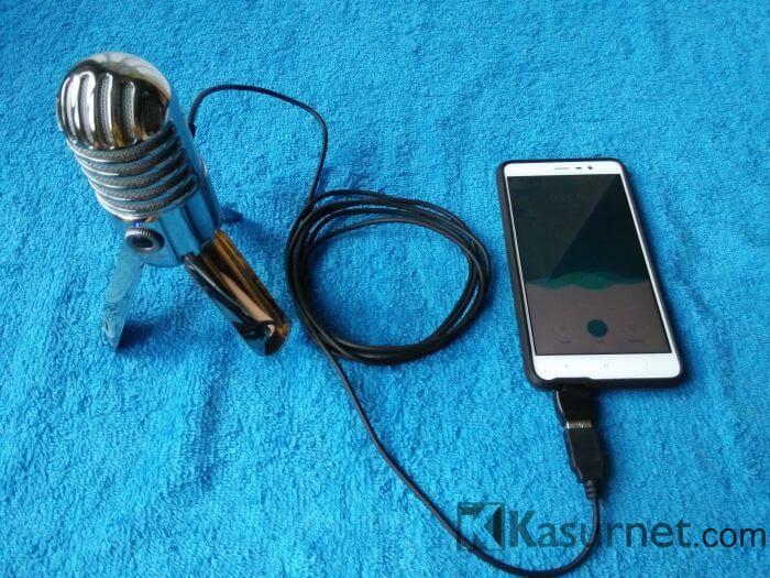 Mic Samson Meteor Mic d Pake Smartphone