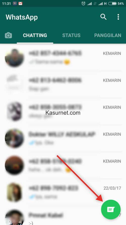 Cara Melihat Kontak Whatsapp Aplikasi Terbaru 2017