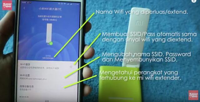 Penjelasan Arti Bahasa Indoneisa Menu Mi Home Mi Wifi Amplify