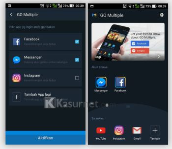 Cara Install 2 Aplikasi Sama di Android Tanpa Root