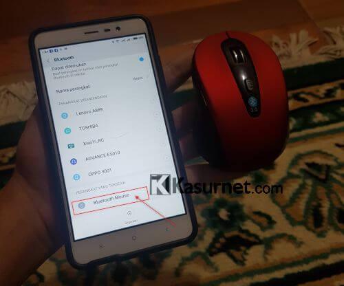 Cara Menyambungkan Pairing Mouse Bluetooth 3.0 2.4GHz 1600DPI