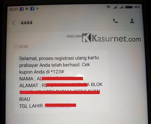 Cara Registrasi Ulang Kartu Simpati Dengan Mudah  Kasurnet.com
