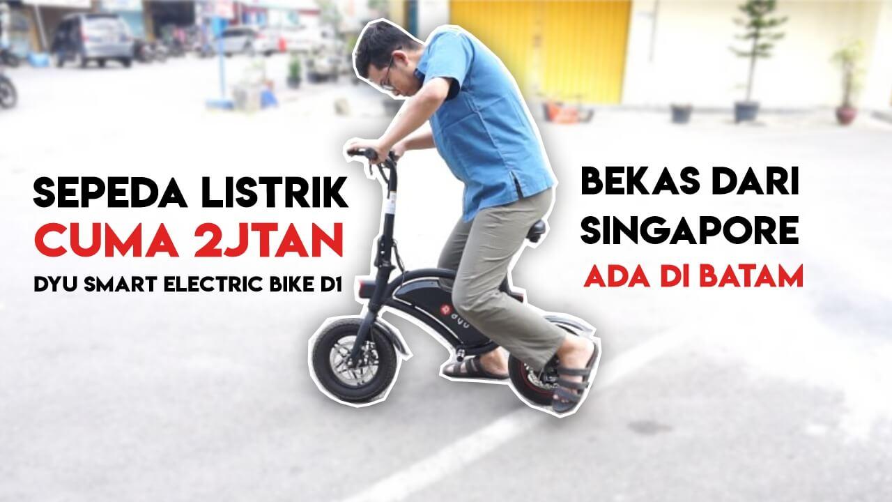 Sepeda Listrik DYU EBike Indonesia