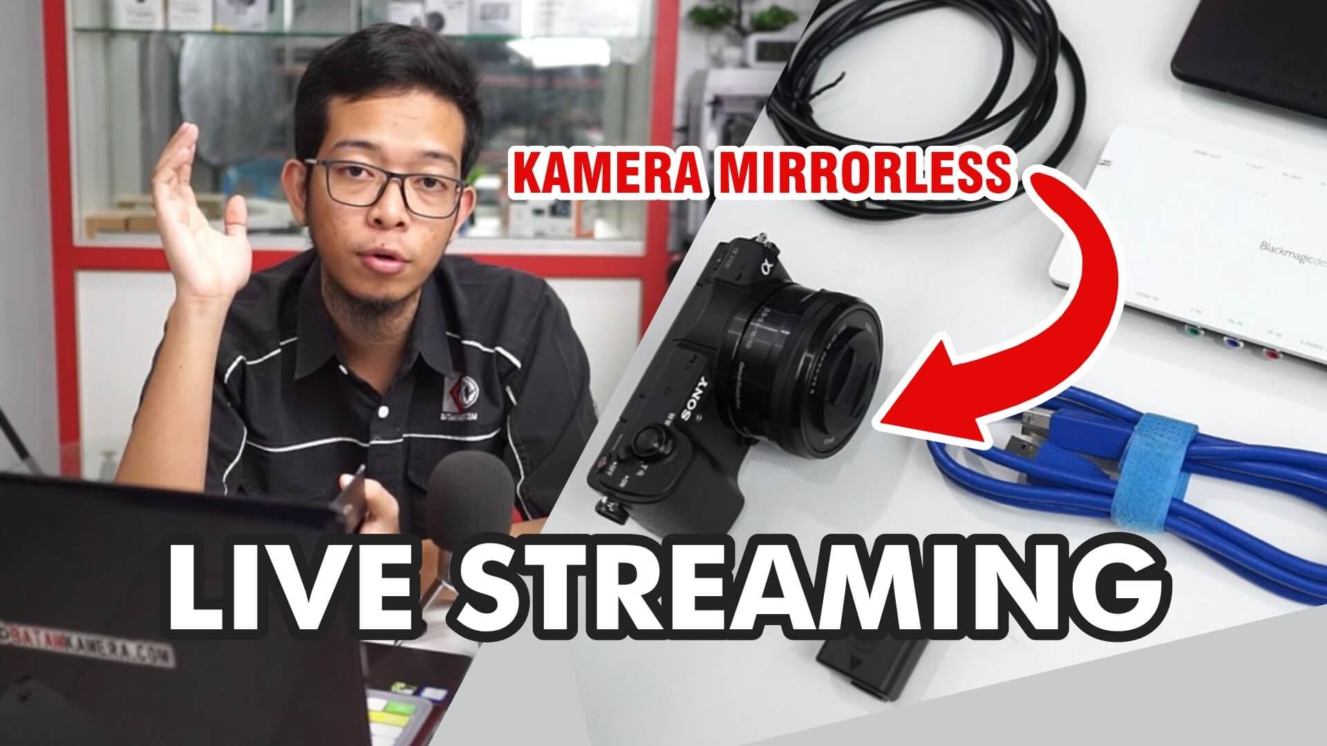 Cara Siaran Langsung Pake Kamera