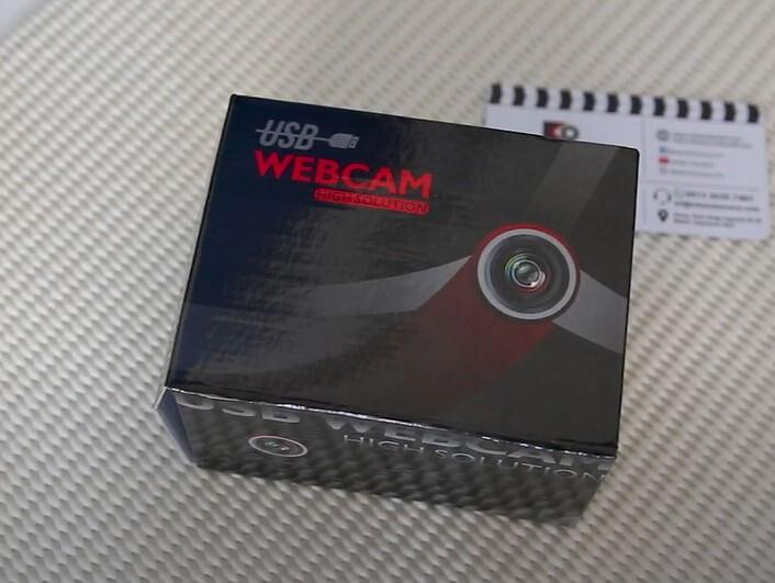 Webcam Webcam PC Camera 1080p 30fps SKU-1216 Kasurnetcom