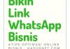 Permalink ke Membuat Link Chat Whatsapp Terbaru 2018