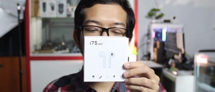 Unboxing Earphone Airpods i7S TWS Bluetooth