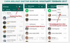 Permalink ke Cara Melihat Kontak Whatsapp Aplikasi Terbaru 2017