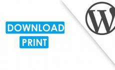 Permalink ke Cara Menambahkan Fitur Download File PDF, Print Situs WordPress