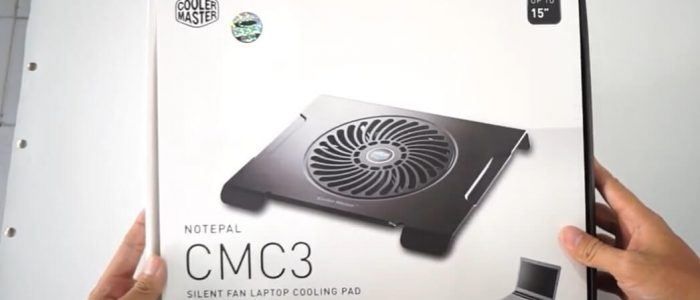 Kipas Laptop Cooler Master CMC3 Cooling Pad Unboxing