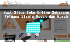 Permalink ke Buat Situs Toko Online Sekarang, Peluang Bisnis Mudah dan Murah
