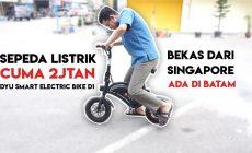 Permalink ke Review Sepeda Listrik Dyu E-Bike D1 Bekas Dari Batam