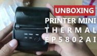 Permalink ke Unboxing EPPOS Mini Thermal Printer EP5802AI Bluetooth