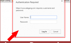 Permalink ke Cara Menghilangkan Pop Up Authentication Required WordPress